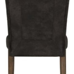 Leather Side Chair Marrakech Swing Emmett Gray Bonded