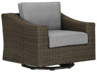 Canyon3 Gray Swivel Chair