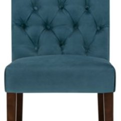 Fabric Side Chairs Office Chair With Neck Support Sloane Dark Blue Upholstered