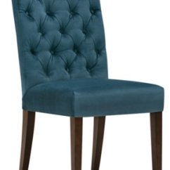 Fabric Side Chairs Bath Chair Accessories Sloane Dark Blue Upholstered