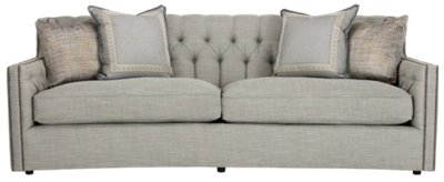 City Furniture: Candace Lt Blue Fabric Sofa