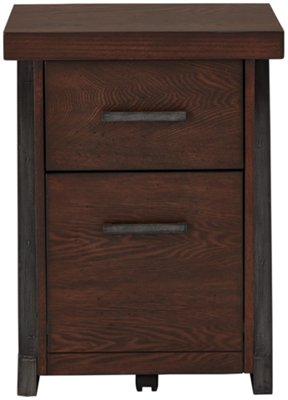 City Furniture Dakota Dark Tone File Cabinet