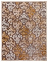 City Furniture: Majestic Gold 5X8 Area Rug