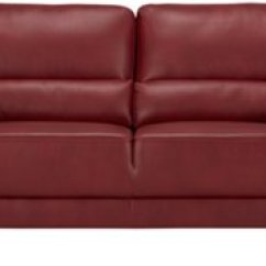 Red Microfiber Reclining Sofa Pit Sectional Elegant Convertible W