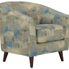 Teal Accent Chair Z High Antalya Fabric