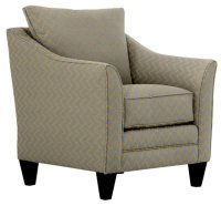 Lulu Gray Fabric Accent Chair
