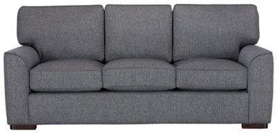 blue fabric recliner sofa peyton ashley furniture city austin