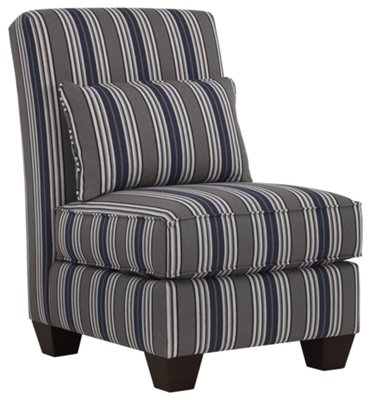 fabrics for chairs striped round chair hanging from ceiling amuse blue fabric accent