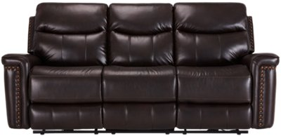 microfiber sofa and loveseat recliner cuir rouge a vendre montreal city furniture wallace dark brown power