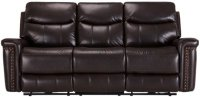 City Furniture: Wallace Dark Brown Microfiber Power ...