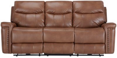 microfiber sofa and loveseat recliner outdoor plans wallace medium brown reclining