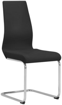 City Furniture: Lennox Black Upholstered Side Chair
