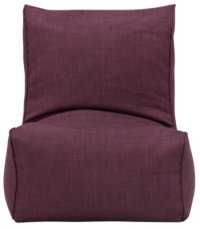 Alesia Purple Armless Chair