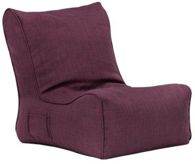Alesia Purple Armless Chair