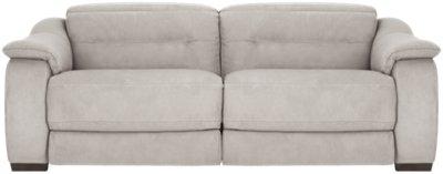 sofa upholstery kent laz y boy bed grey microfiber sensations gray