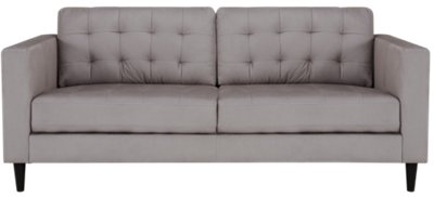 light gray sectional sofa montauk stanley dimensions city furniture shae microfiber