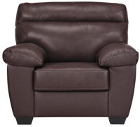 Brown Leather Chair With Ottoman | Tyres2c