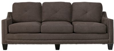 gray microfiber sectional sofas grease stain removal leather sofa city furniture malone dark large