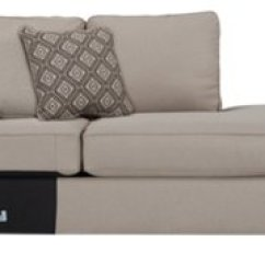 Beige Microfiber Sectional Sofa With Storage Chaise Fold Out Bed Full Size City Furniture Calicho Light Taupe Right