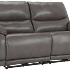 Grey Power Reclining Sofa Best Rated Leather Brands City Furniture Vince Gray