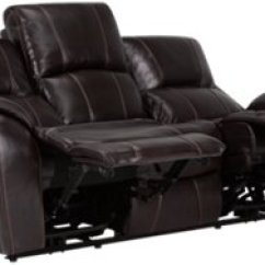 Deacon Leather Power Reclining Sofa Reviews Modern Company Memphis Dark Brown And Vinyl
