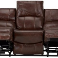 Deacon Leather Power Reclining Sofa Reviews Pipe Set Memphis Medium Brown And Vinyl