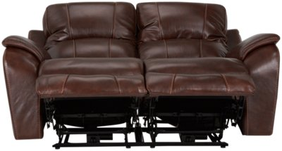 deacon leather power reclining sofa reviews dog bed blanket city furniture memphis medium brown