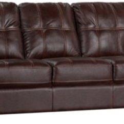 Dark Brown Microfiber Sofa Charcoal Grey Corner Henry