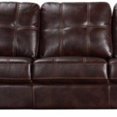 Dark Brown Microfiber Sofa Uno Left Arm Cb2 City Furniture Henry Right Bumper