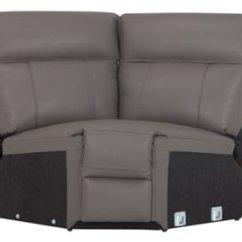 Gray Microfiber Power Reclining Sofa Leather Sofas Las Vegas City Furniture Rhett Small Two Arm