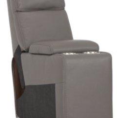 Gray Microfiber Power Reclining Sofa Over Wall Art City Furniture Rhett Small Two Arm