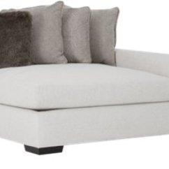Orlando Sectional Sofa Eco Friendly Sofas City Furniture Light Gray Fabric Small Right