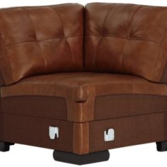 Large Chaise Sofa Leather Kuka Home Review City Furniture Trevor Medium Brown Right