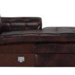 Large Chaise Sofa Leather Chesterfield Online Bestellen City Furniture Trevor Dark Brown Right