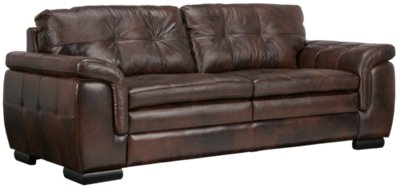 trevor dark brown leather