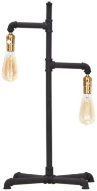 City Furniture: Telestar Black Metal Table Lamp