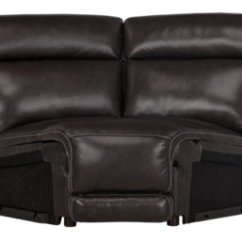 Dark Brown Sectional Sofa Chaise Nina Leather 3 Piece Power Reclining Wedge And Loveseat City Furniture Gable Left