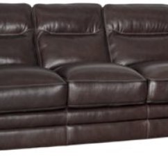 Alec Leather Sofa Collection Foam Sleeper For S Alexander Dark Brown
