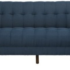 Sofas Dark Blue Fun Sectional Brentwood Fabric Sofa