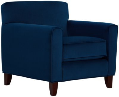 Accent Chair Blue City Furniture Royale Blue Accent Chair