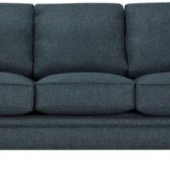 Blue Fabric Recliner Sofa Chair And Ottoman Slipcovers City Furniture Avery Dark