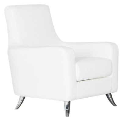 white chaise chair stool cad block city furniture home accents decor chairs chaises marquez microfiber micro accent