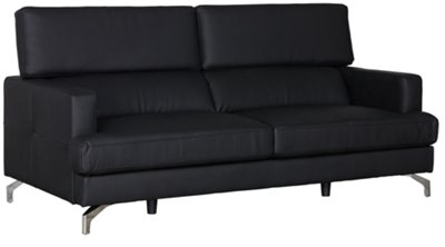 black microfiber sofa set twin mattress diy city furniture marquez