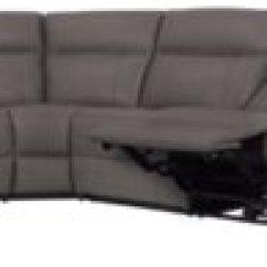 Gray Microfiber Power Reclining Sofa Velvet Dark Blue Rhett Large Two Arm Sectional