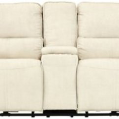Microfiber Reclining Sofa With Drop Down Table Bed Urban Barn Console Nathanielhome Benjamin Leather