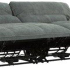 Gray Microfiber Power Reclining Sofa Covers Walmart Calgary Jesse Dark