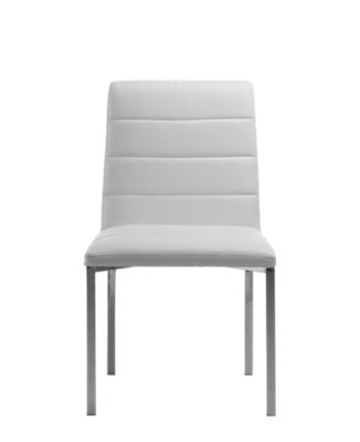 White Dining Room Chair Amalfi White Upholstered Side Chair Dining Room Chairs City