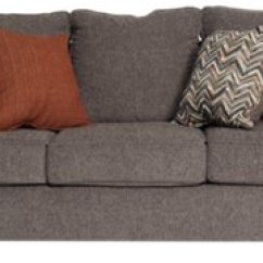 Gray Microfiber Sectional Sofas Pull Out Sofa Ikea City Furniture Chase Dark