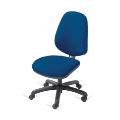 Office Chair Rental Folding Picnic Chairs B M Blue Operator Hire For Events