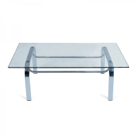 Rectangle Glass Coffee Table Furniture Hire